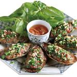 ニャーヴェトナム - パーナ貝の肉詰め焼き