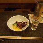 しゅ藤 - ヤリイカ煮付け & 能古見(佐賀)