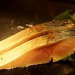 しゅ藤 - 〆鯖 黒七味