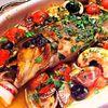 オールドクロウ - 料理写真:その日築地から仕入れた、新鮮な魚を使った料理(魚等によって調理方法は変化いたします。)