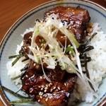 丸木屋 - ミニチャーシュー丼
