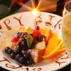 クローバー - メニュー写真:お誕生日デザートプレート