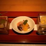 みちば和食 銀座 たて野 - 冷やし鉢3種