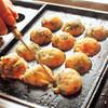 蛸之徹 - 料理写真:目の前で焼けるのを待つ間も楽しいですよ~♪