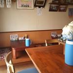 櫻喜 - カウンター6席、小上がり2卓8席(H25.7.26撮影)