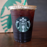スターバックスコーヒー - グランデ アイス アメリカーノ 1ショット追加 450円