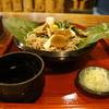 寿美久 - 料理写真:ほうば山菜蕎麦全景(2013.7.24)