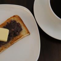 喫茶フェリーチェ - モーニング時間帯はドリンクご注文頂くとトーストが無料でついてきます。