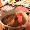 しゃぶしゃぶいちばん - 料理写真:大好評★二色鍋。スープは6種より2種選べます。