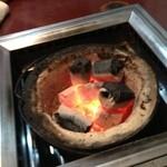 千里香 - 7/27 炭火 今日は私が焼き方を務めさせていただきます