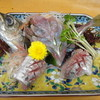 魚仁 - 料理写真:鰺の刺身