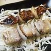 やきとり菊 - 料理写真:鳥肝、豚バラ