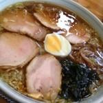20323215 - チャーシューワンタン麺 1103円。