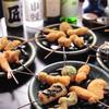 ぎんざ磯むら - 料理写真:おまかせ串は季節食材を肉・野菜・魚介など順番にお出ししてまいります。