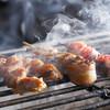 えんや - 料理写真:【地鶏】備長炭で丹念に焼き上げています