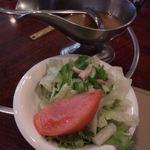 ポレール - サラダ。コレと言って・・。
