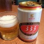 サイゴン - ベトナムビール、333