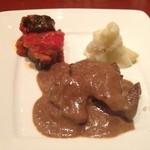 カデンツァーレ - 牛ほほ肉の赤ワイン煮込み美味しかったです☆