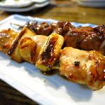 鳥京 - ねぎ肉170円