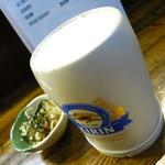 鳥京 - 生ビール650円