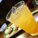 鳥京 - グレープフルーツ割り420円