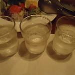 旬鮮炭火焼 獺祭 - 芋焼酎飲み比べセット