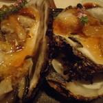 旬鮮炭火焼 獺祭 - 岩牡蠣のポン酢ジュレ