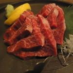 旬鮮炭火焼 獺祭 - 三重県産黒毛和牛イチボ肉