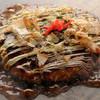 ランカ - 料理写真:昭和44年からの老舗の味! こだわりソースで味わう「ふっくら生地」の好み焼きを堪能