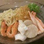 中国料理 白楽天 - 富山第一ホテル「白楽天」で夏季限定の冷やし中華です♪カニやホタテの魚介類が豪華!