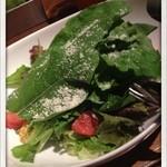 テイキー - フルーツトマトと有機リーフのグリーンサラダ