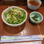串膳 - 野菜、漬物