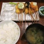 串膳 - 串膳定食 1,050円