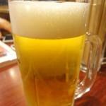 ホルモン やまと - ビール☆