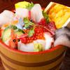 さくら川 - 料理写真:日本海 漁師丼 (上)