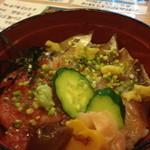 加茂寿司 - マグロイワシ丼