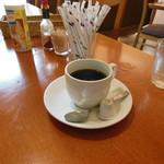 サニイサイド - セットのホットコーヒー