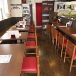 鉄板焼 いいべ家 - カウンター席 6席 テーブル席 14席 テーブル席仕切り有 貸切10名様~ご相談ください。