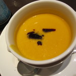 カフェラントマン - かぼちゃのスープ