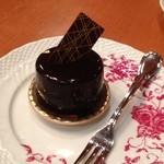 泉のテラス - チョコレート♪