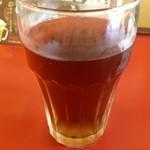 天ぷら家 - 麦茶