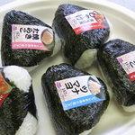 オリジン弁当 - ジャンボ手作りおにぎり¥157♪ ツナマヨ、炙り辛し明太子、焼たらこ、しゃけ、すじこ☆