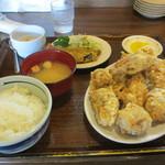 ふじ - ザンギ定食8個 850円
