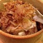 リナトキッチン - じゃこ葱豆腐