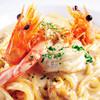 バルサモ - 料理写真:天使の海老と生うにのクリームパスタ