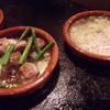 バニュルス - 料理写真:バルの定番「アヒージョ」(ガーリックオイル煮)