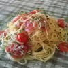 ビストロ アン - 料理写真:マグロとしらすの冷製スパゲッティー
