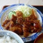 オルゴール - 料理写真:チキンカツ定食