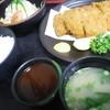 めん処まんぷく - 料理写真:ダブルカツ定食