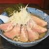 麺心 國もと - 料理写真:塩ラーメン(700円)+低温チャーシュー(250円)+大盛り(半玉50円)